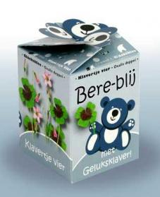 Greengift Happy Bear blauw