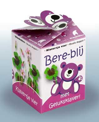 Greengift Happy Bear roze
